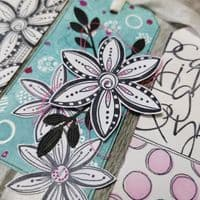 PaperArtsy Mounted Rubber Stamp Set JOFY Collection 101 - JOFY101